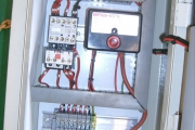 Flare tower control panel