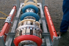 Corrosion detection tool being prepared for launch