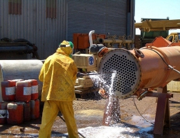Cleaning of heat exchangers