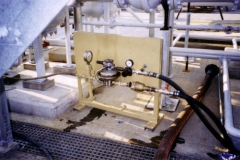 Pressure test equipment