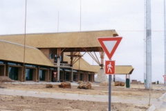 New terminal building under construction